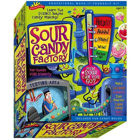 Sour Candy Factory Science Kit - English Edition