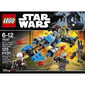 LEGO Star Wars Ensemble de combat Speeder Bike du Bounty Hunter 75167.