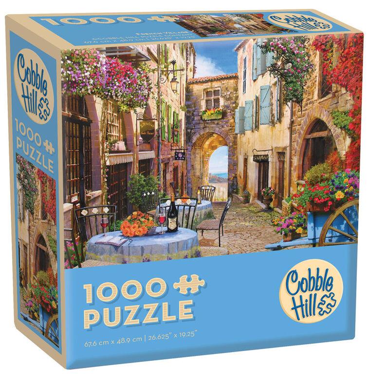 French Village  1000 Piece Puzzle