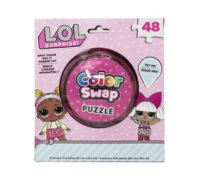 L.O.L. Surprise! 48-Piece Color Swap Puzzle