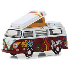 1:64 Club Vee-Dub Séries 8 - 1973 Volkswagen Type 2 Westfalia Campmobile