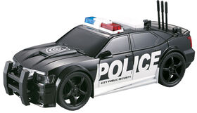 City Service: Rescue Vehicle: Police.