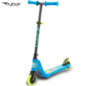 Flybar Aero 2 Wheel Kick Scooter for Ages 5 and Up (Blue)