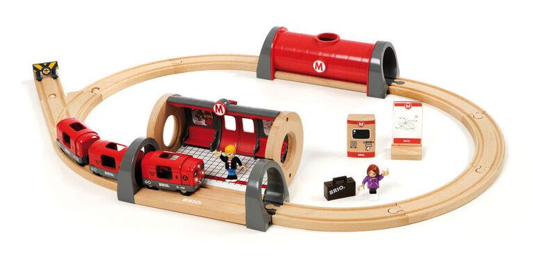 BRIO Metro Railway Set - English Edition