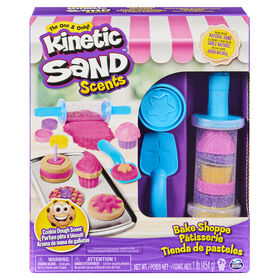 Kinetic Sand Scents, Bake Shoppe Playset with 1lb of Scented and Neon Sand and 16 Tools and Molds