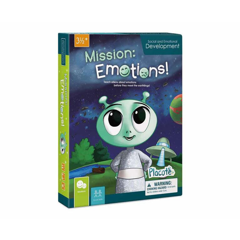 La Planète des Émotions - Placote - jeu éducatif - Édition anglaise