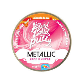Nickelodeon Liquid Lava Putty Metallic Rose Quartz - R Exclusive