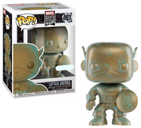 Funko POP! Movies: Marvel 80th - Captain America - R Exclusive