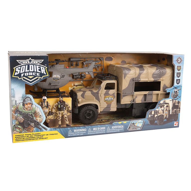 Soldier Force Trooper Truck Playset - R Exclusive