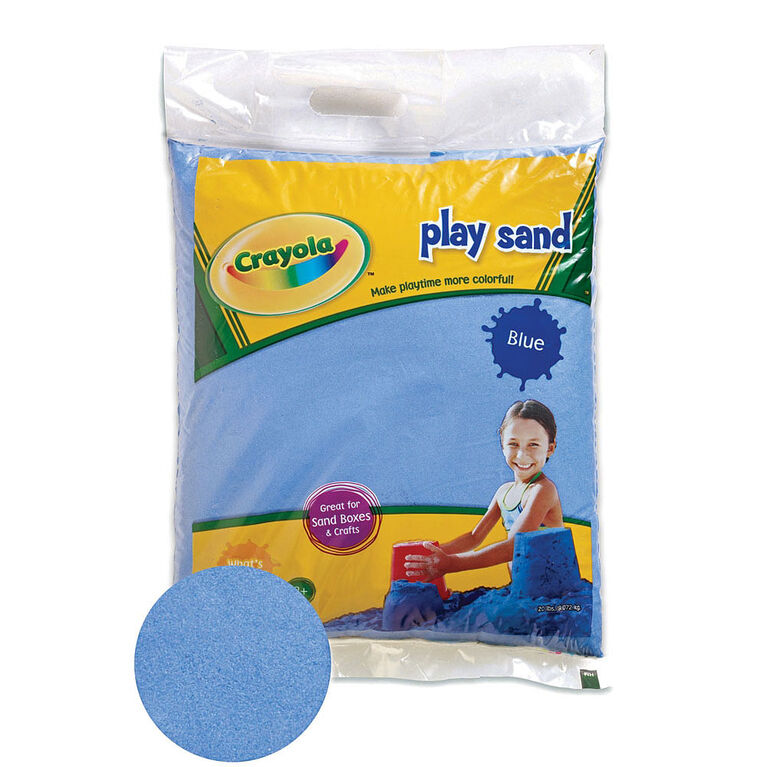 Crayola - 9 Kg Coloured PlaySand - Blue