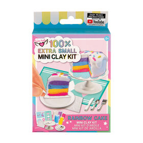 Fashion Angels - 100% Extra Small Rainbow Cake Mini Clay Kit