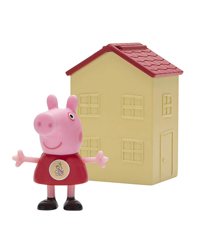 Peppa Pig - Blind House with Figure