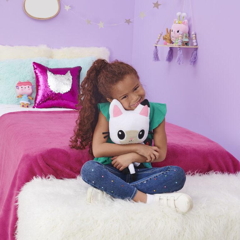 DreamWorks, Gabby's Dollhouse, Peluche Talking Pandy Paws de 33 cm avec lumières, musique et 10 sons et répliques