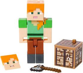Minecraft Comic Maker Alex Action Figure - English Edition
