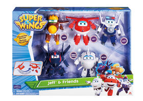 Super Wings Transforming Characters Collector 5 Pack