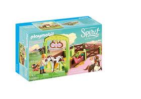 "Playmobil - Spirit Horse Box ""Abigail & Boomerang"