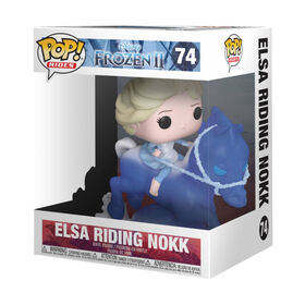 Funko POP! Ride Movies: Frozen - Elsa Riding Nokk - English Edition
