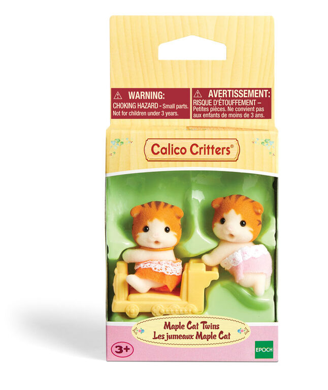 Calico Critters Maple Cat Twins - styles may vary