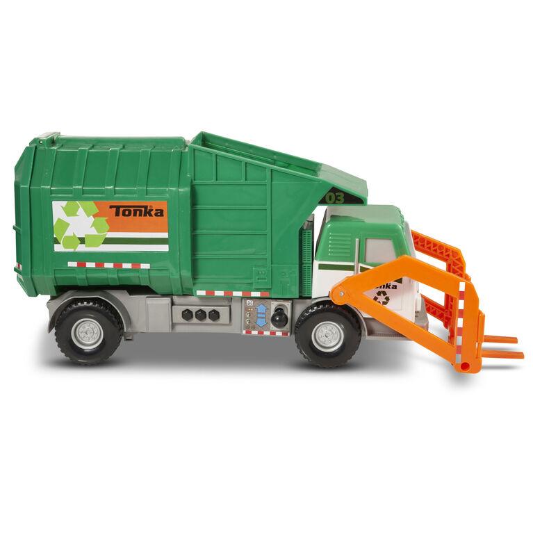 Tonka Mighty Motorized Garbage Truck