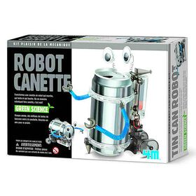 4M Tin Can Robot - French Edition