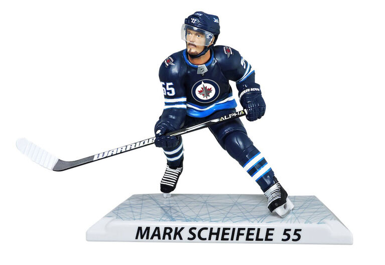 Mark Scheifele<br>Jets de Winnipeg Figurine de 6 pouces de la LNH.
