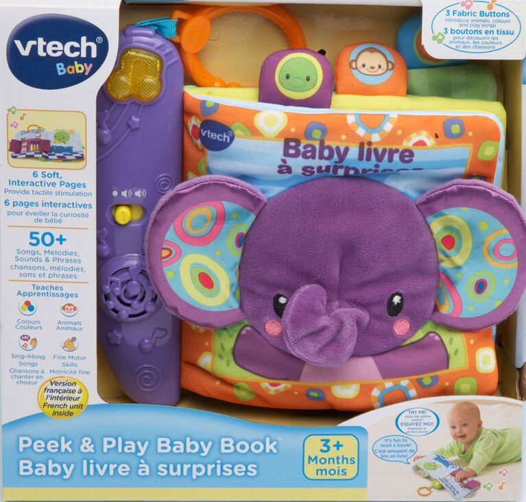 Peek & Play Baby Book - French Edition