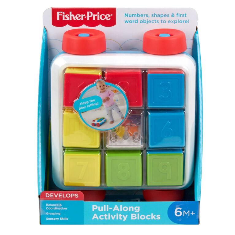 Fisher-Price Pull-along Activity Blocks