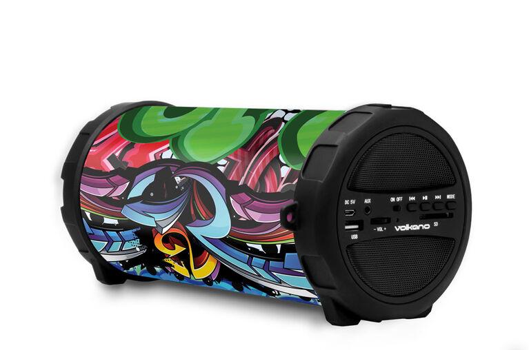 Volkano - Bazooka Rap Series - Bluetooth Speaker - Color Mixed