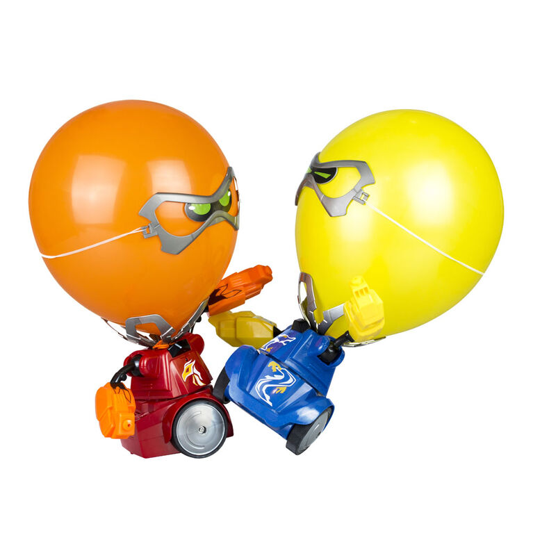 Robo Kombat Balloon Puncher Twin Pack Blue and Red