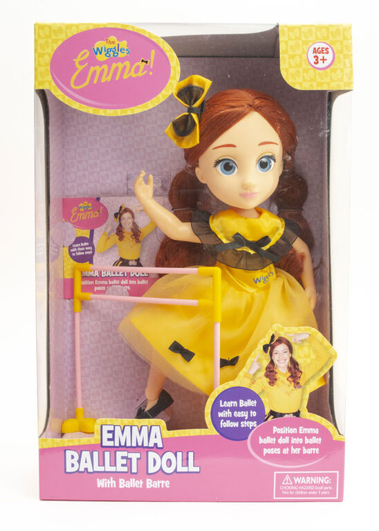 Emma Ballet Doll with Ballet Barre
