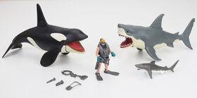 Animal Planet - Méga coffret requin et épaulard - Notre exclusivité