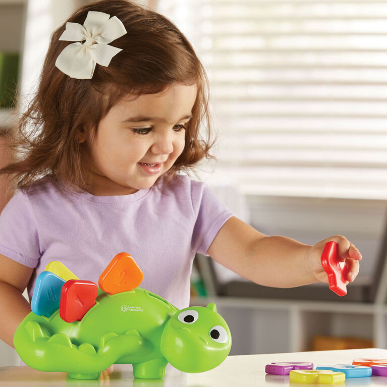 Learning Resources Steggy, The Fine Motor Dino - English Edition