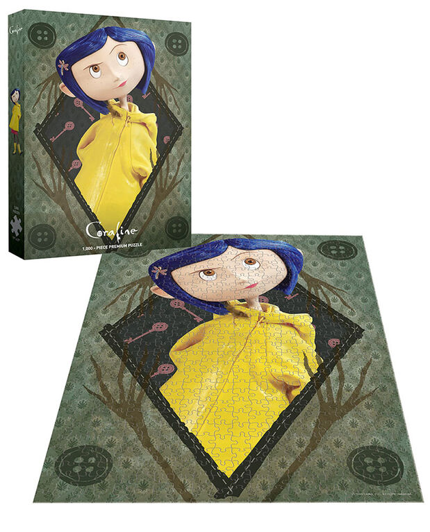 "Coraline ""Be Clever"" 1000 Piece Puzzle - English Edition"
