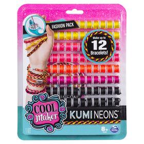 Cool Maker - KumiKreator Neons Fashion Pack Refill