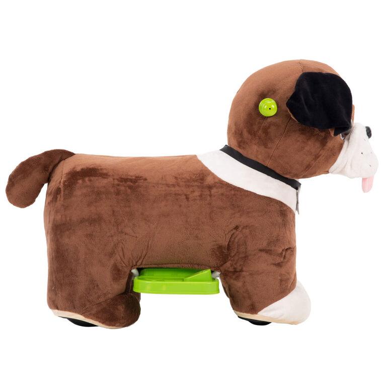 Auggie 6V - Jouet en peluche de chien de Huffy