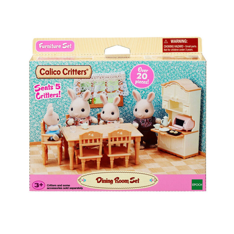 Calico Critters - Ensemble de Salle à Manger