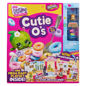 Shopkins Real Littles Cutie O's Mini Mega Mart