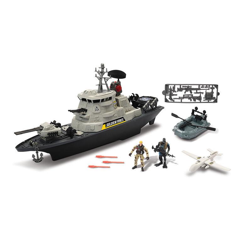 Soldier Force Hurricane Battleship Playset - R Exclusive