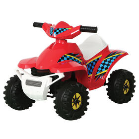Rollplay 6V Racer Mini Quad, Red