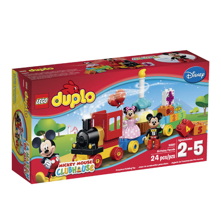 LEGO Duplo - Mickey & Minnie Birthday Parade (10597)