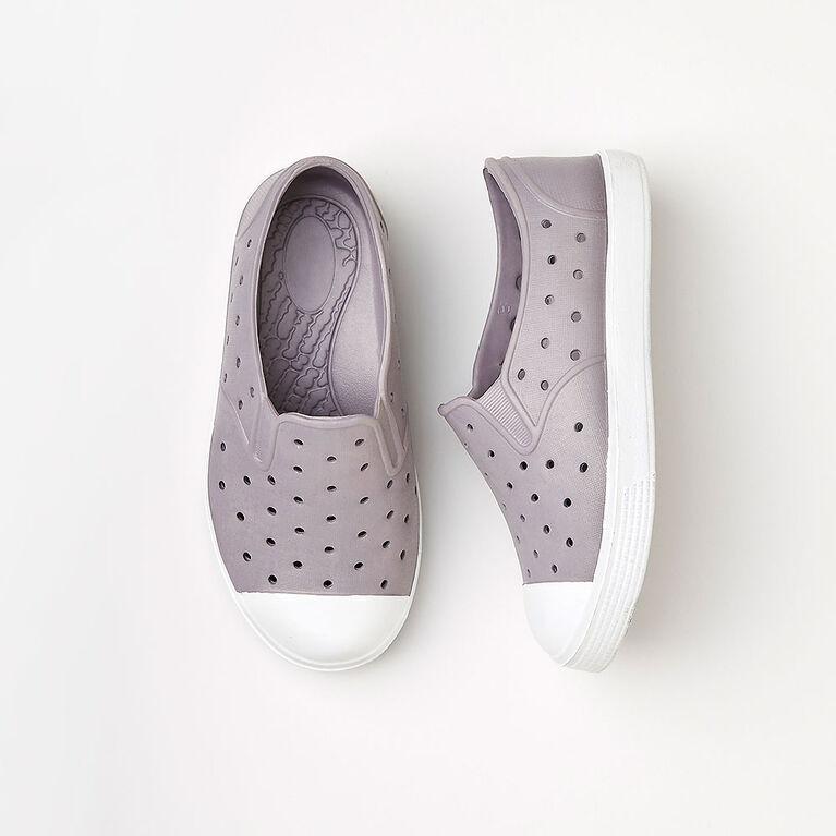 drip drop sneaker, size 9 - light grey