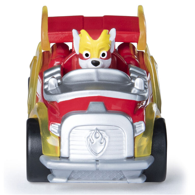 PAW Patrol - True Metal Mighty Marshall Super PAWs Collectible Die-Cast Vehicle - Mighty Series 1:55 Scale