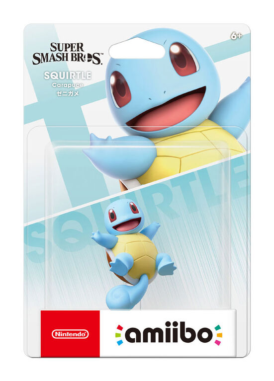 amiibo - Squirtle - Super Smash Bros. Series