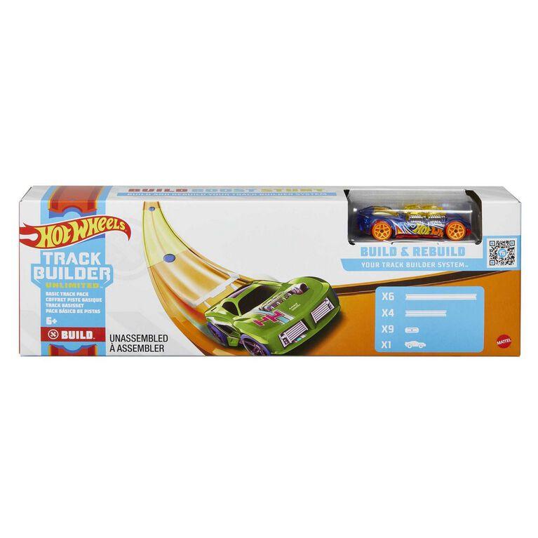 Hot Wheels Track Builder Unlimited Basic Track Pack, Track Set