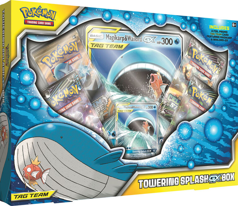 Jcc Pokemon Coffret Towering Splash Gx Toys R Us Canada
