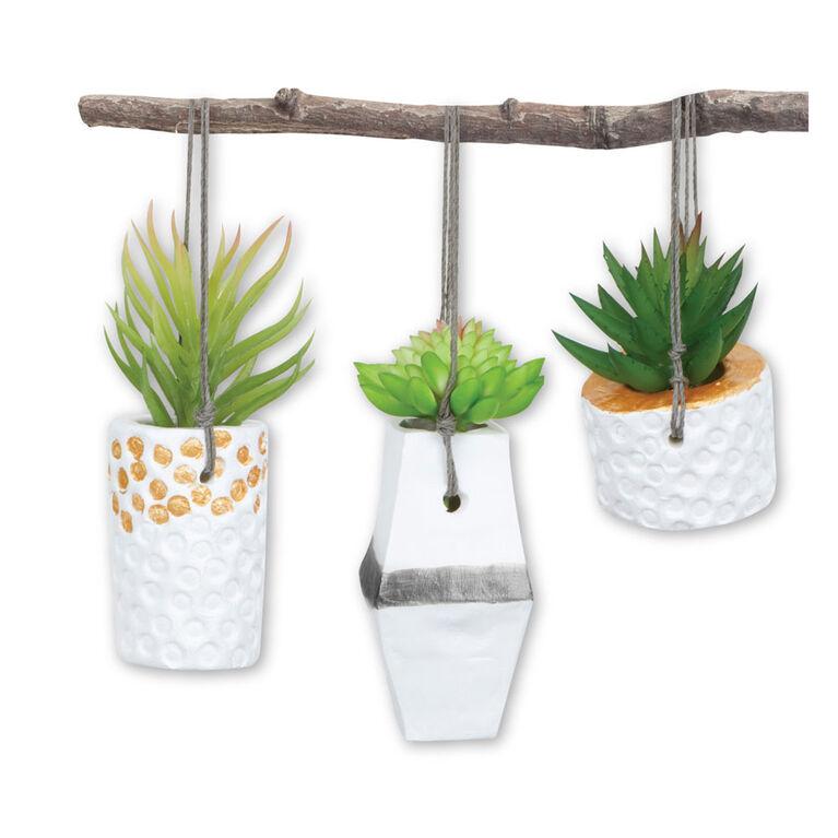Crayola Signature DIY Hanging Planters Craft Kit