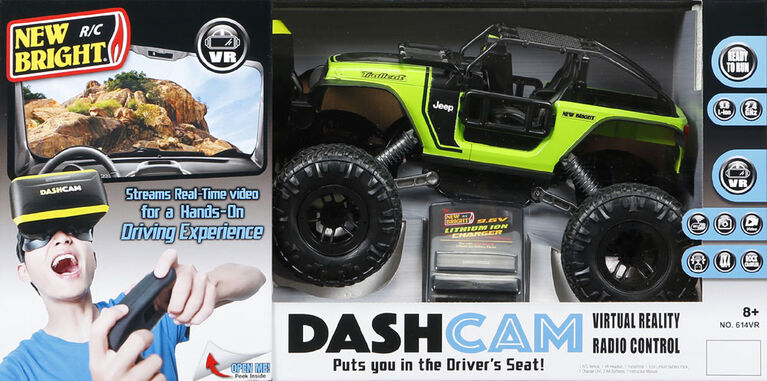 New Bright R/C Dash Cam Trailcat