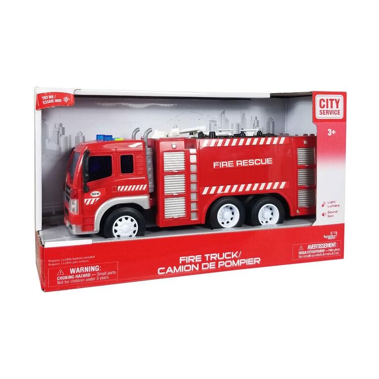 City Service: Camion De Pompier: Camion Autopompe