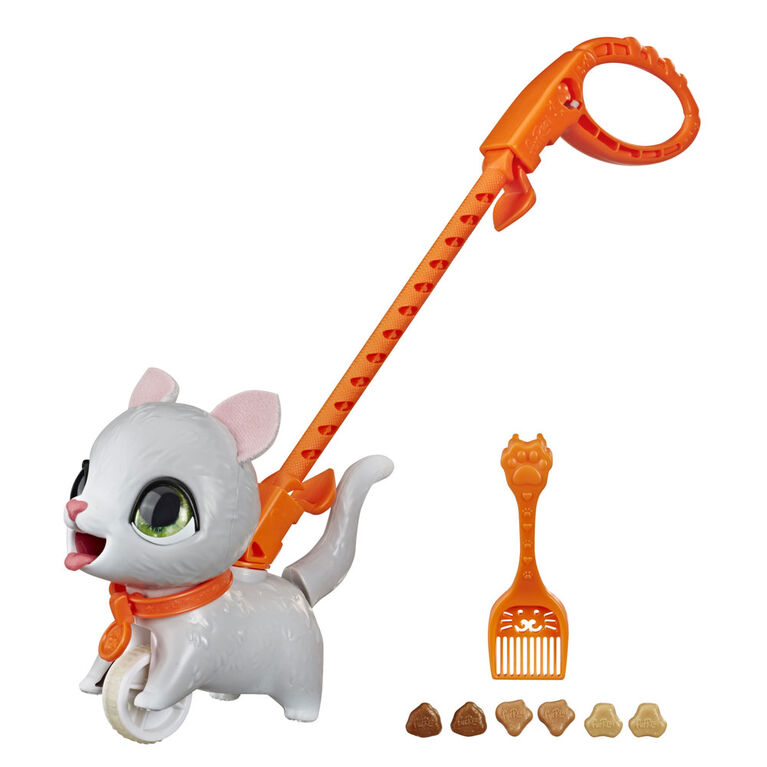 furReal Petits pas Poopalots, animal interactif (chaton)