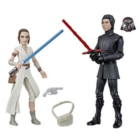 Star Wars Galaxy of Adventures Rey and Supreme Leader Kylo Ren 5-inch Scale Action Figure 2-pack